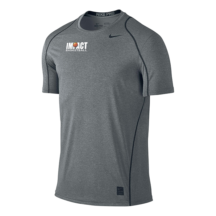 nike dri fit t shirt short sleeve impact basketball