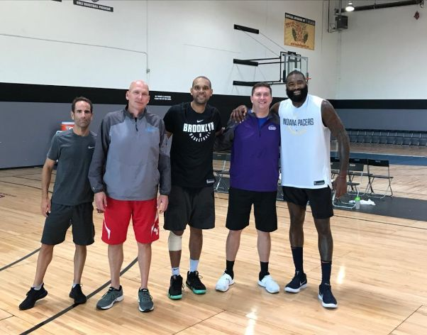 Joe, Kyle O'Quinn & Jared Dudley with Certified Coaches